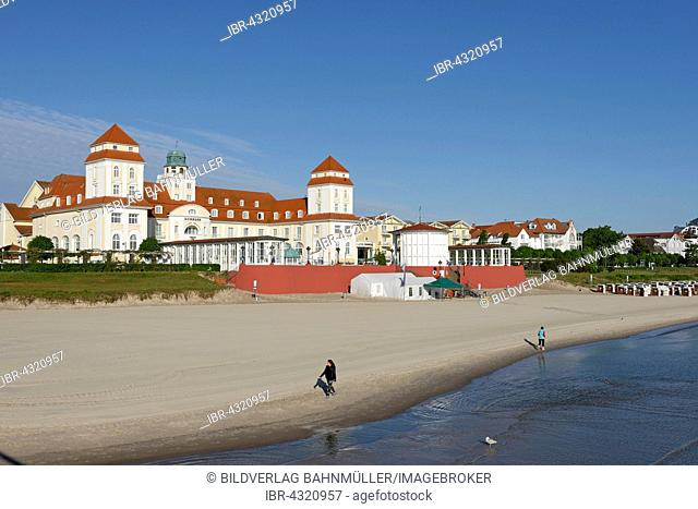 Binz spa hotel, Binz seaside resort, Rügen, Mecklenburg-Western Pomerania, Germany