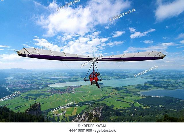 Hang glider delta Stock Photos and Images | age fotostock