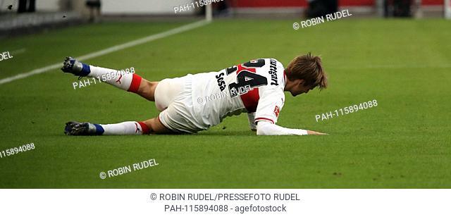 Germany, Stuttgart, 19.01.2019, Soccer, Bundesliga, Season 2018/2019, 18th matchday, VfB Stuttgart - FSV FSV Mainz 05: Borna Sosa (VfB Stuttgart)