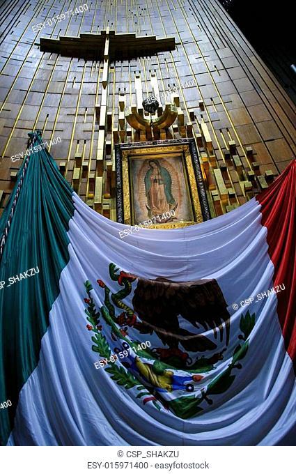 Apron of Juan Diego in Basilica
