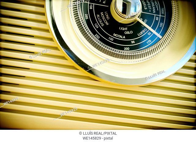Old radio set