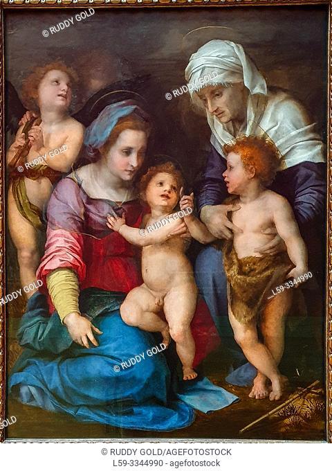 'The Holy Family', 1514/15, Andrea del Sarto (1486-1530)