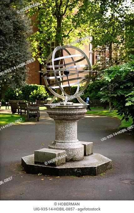 Armillary Sundial, London