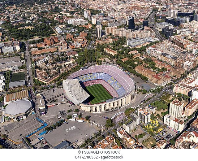 Sports facilities of Football Club Barcelona. Camp Nou