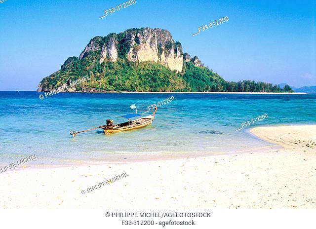 Chicken island, Ao Nang. Krabi. Thailand