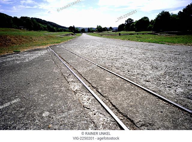 GERMANY : Concentration Camp memorial site Mittelbau-Dora near Nordhausen - Nordhausen, Thuringia, Germany, 24/07/2010