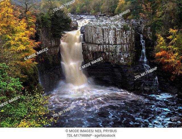 A waterfall, High Force Falls, County Durham, United Kingdom