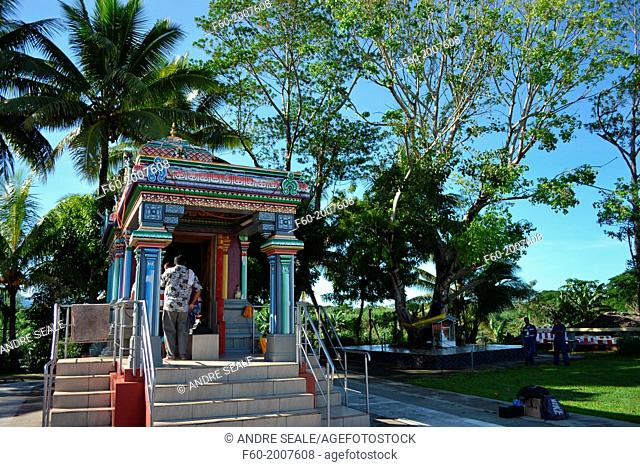 Hindi Temple of Sri Siva Subramaniya Swami, Suva, Viti Levu, Fiji, South Pacific