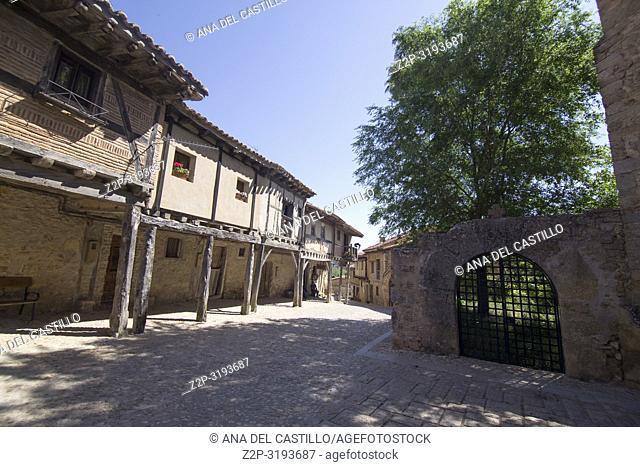 Medieval village of Calatanazor in Soria region, northern Spain