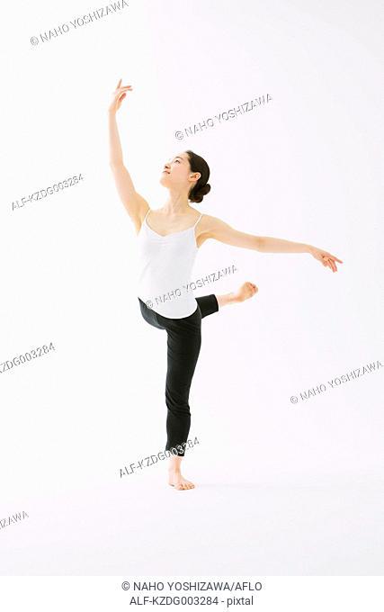 Japanese female dancer