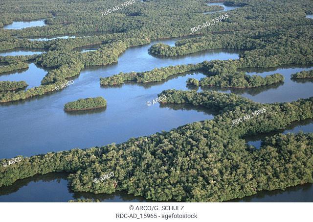 Ten Thousand Islands Everglades national park Florida USA