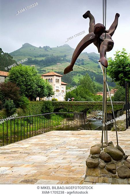 Lierganes village  Cantabria, Spain