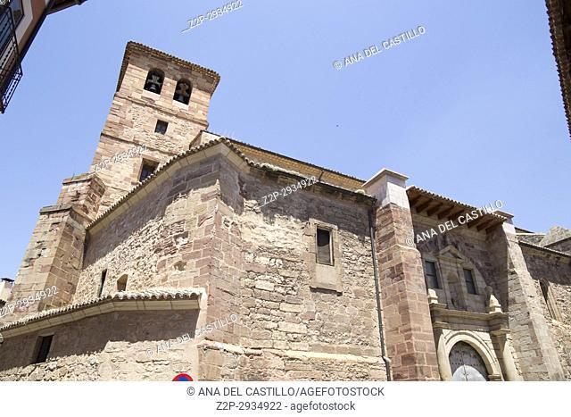 Molina de Aragon village Aragon. Spain