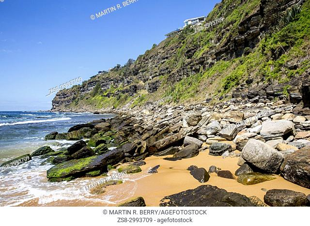 Bungan beach , one of Sydney northern beaches,New South Wales,Australia