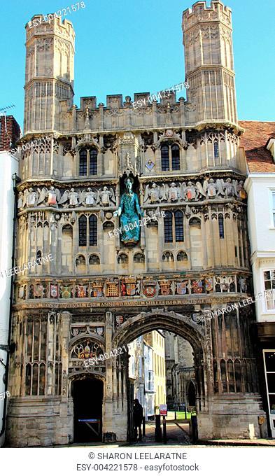 Gate at Canterbury Cathedral