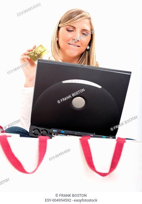 Online shopping temptation