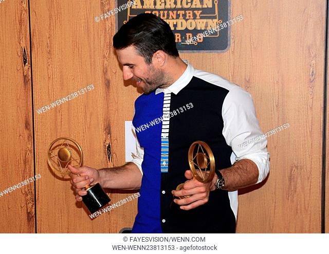 2016 American Country Countdown Awards - Press Room Featuring: Sam Hunt Where: Inglewood, California, United States When: 01 May 2016 Credit: FayesVision/WENN