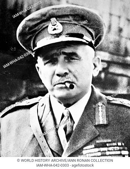British Army Officer Stock Photos And Images
