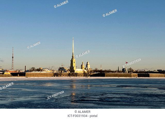 Russia, St Petersburg, Peter and Paul Fortress