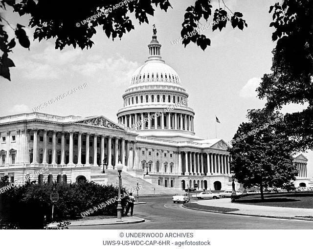 Washington, D.C.: July 6, 1963.The Capitol Building in Washington, D.C
