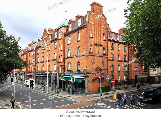 Architecture of the city Dublin