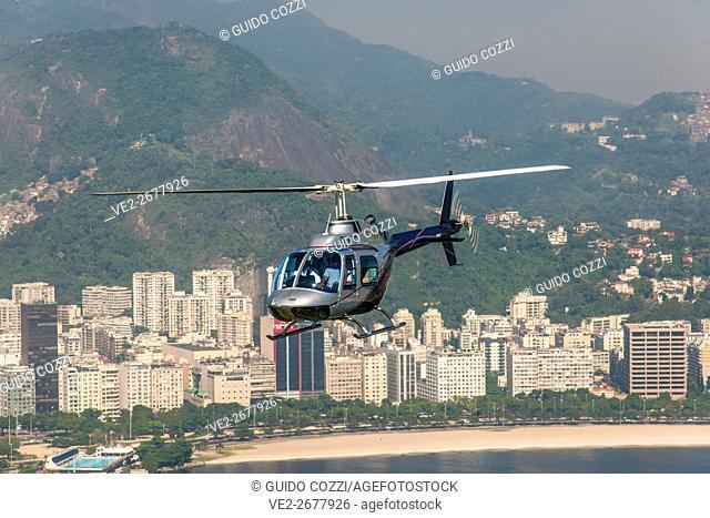 Heliport at Morro da Urca, Rio de Janeiro, Brazil