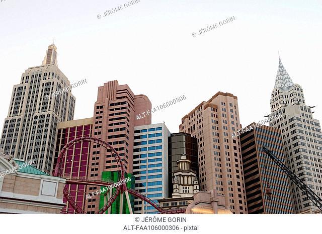 New York - New York Hotel and Casino in Las Vegas, Nevada, USA