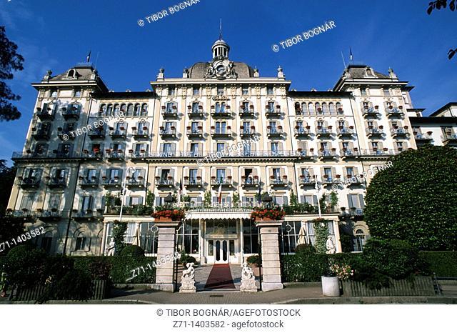 Italy, Piedmont, Stresa, Grand Hotel des Iles Borromées