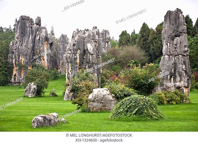 Shilin, Stone Forest, Shilin Yi, near Lunan and Kunming, Yunnan Province, China