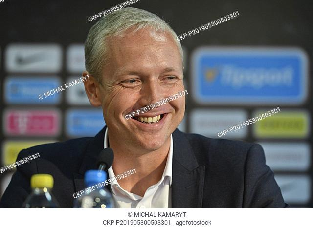 Vaclav Jilek was named the new head coach of AC Sparta Praha. The current Sigma Olomouc coach has signed a three-year contract in Prague, Czech Republic, May 30