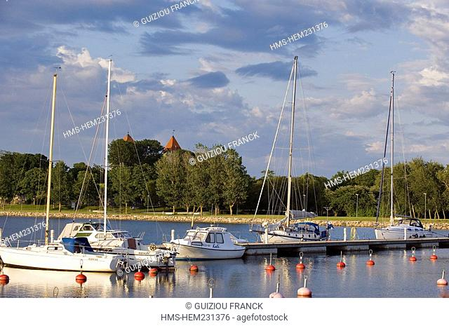 Estonia Baltic States, Saaremaa Island, Kuressaare Village, the harbour