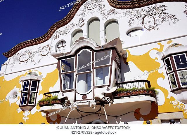 Art Nouveau - Modernist - architect Josep Maria Jujol's Catalan farmhouse -Masía- Can Negre. Snt Joan Despi, province of Barcelona, Catalonia, Spain, Europe
