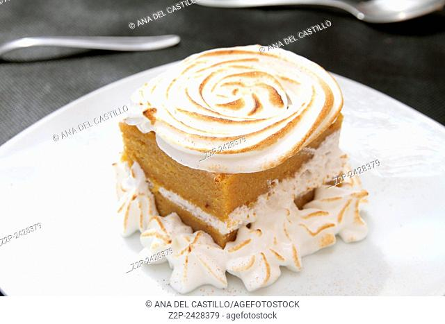 Traditional Pumpkin pie Spain