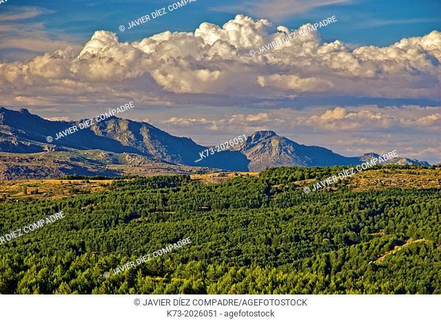 San Martin del Pimpollar. Sierra de Gredos Regional Park. Avila Province. Castilla y Leon. Spain