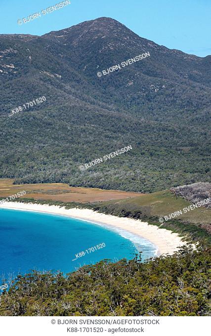 Wineglass bay, Freycinet Peninsula  Tasmania, Australia
