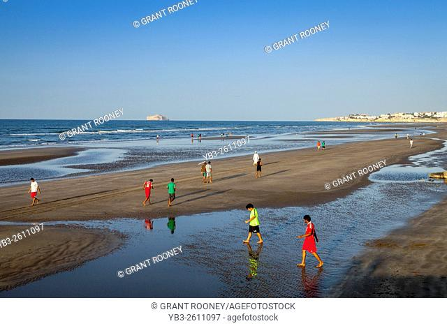 The Beach At Muscat, Sultanate Of Oman