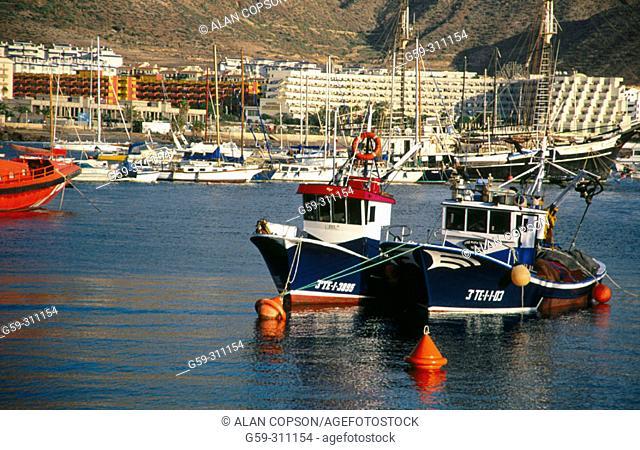 Los Cristianos. Tenerife. Canary Islands. Spain