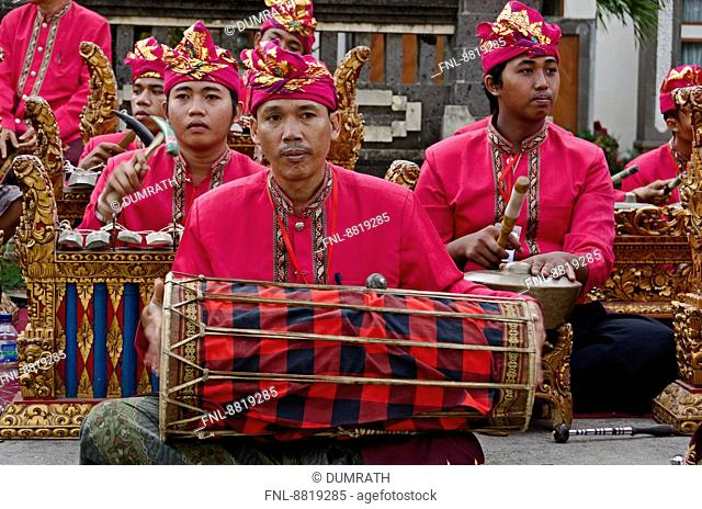 Gamelan orchestra, Bali, Indonesia, Asia