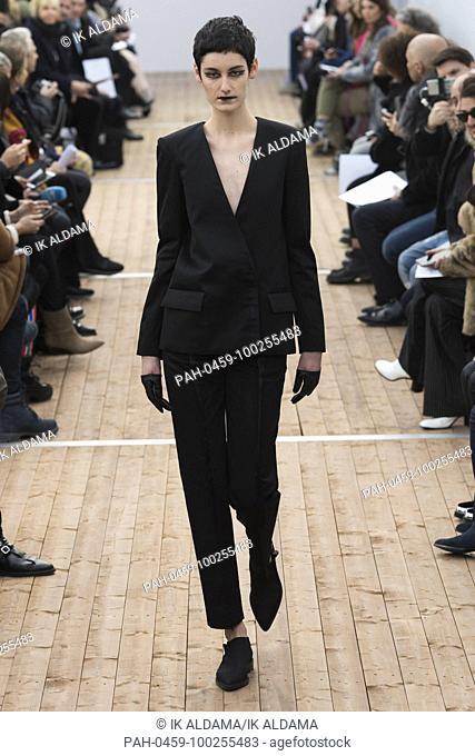 GUY LAROCHE 'Äãrunway show during Paris Fashion Week, Pret-a-Porter Autumn Winter 2018 - 2019 collection - Paris, France 28/02/2018.   usage worldwide