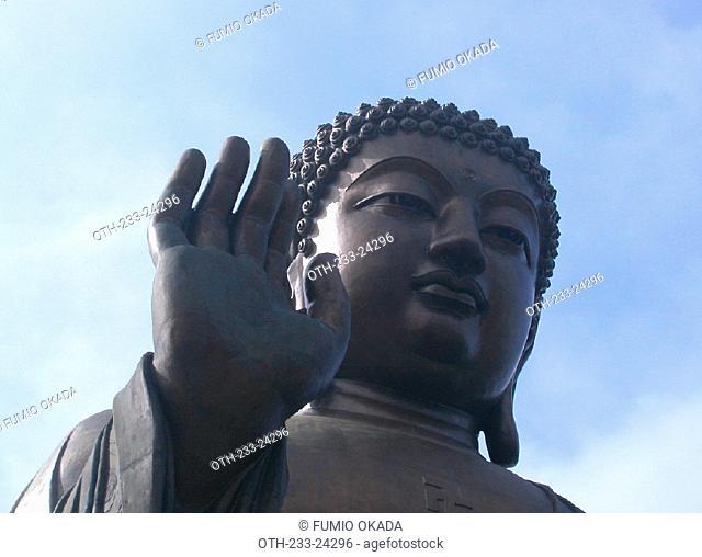 Giant Buddha, Po Lin Monastery, Lantau Island