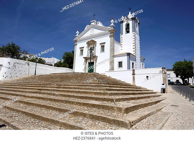 A church in Loule, Portugal, 2009