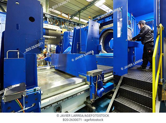 Turnmill lathe. Retrofitting. Machining Center. CNC. Design, manufacture and installation of machine tools. Bost Machine Tools Company. Asteasu