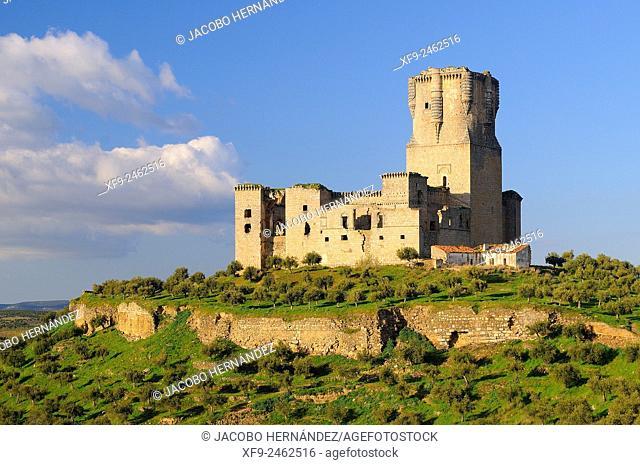 Castle of Belalcázar.Los Pedroches region.Córdoba province.Andalusia.Spain