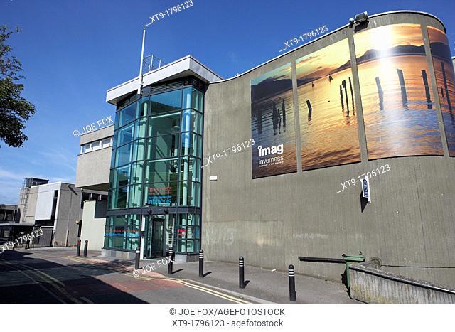 inverness museum and art gallery highland scotland uk