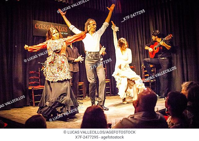 Casa Patas, tablao flamenco, Calle de los Canizares 10, Madrid, Spain
