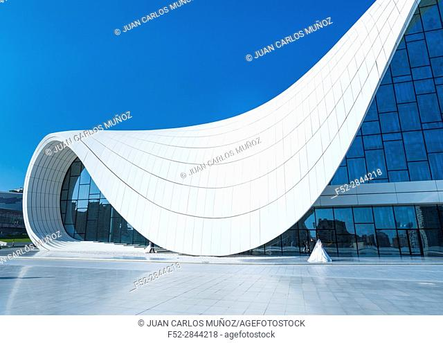 Zaha Hadid Architect Building, Heydar Aliyev Center, Baku City, Azerbaijan, Middle East