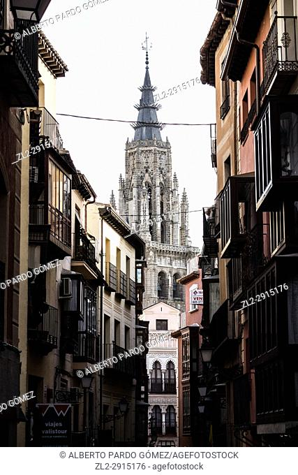 Cathedral of Toledo from a street