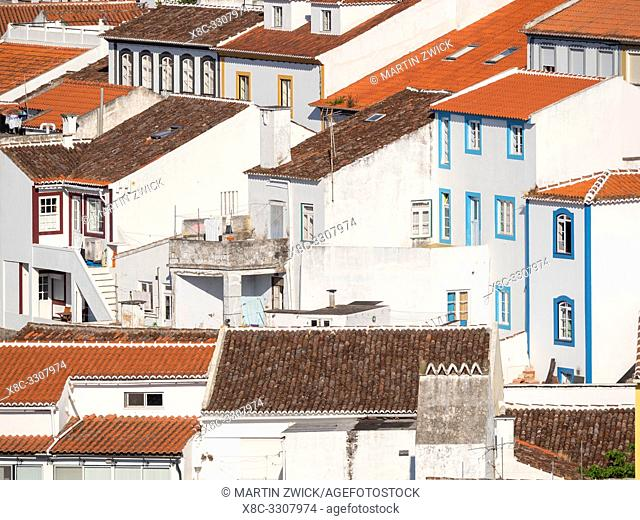 Capital Angra do Heroismo, the historic center is part of UNESCO world heritage. Island Ilhas Terceira, part of the Azores (Ilhas dos Acores) in the atlantic...