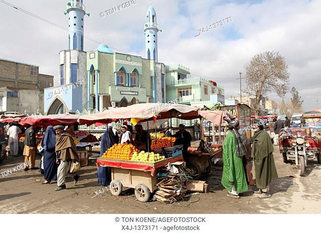 Mosque in Kunduz, Afghanistan