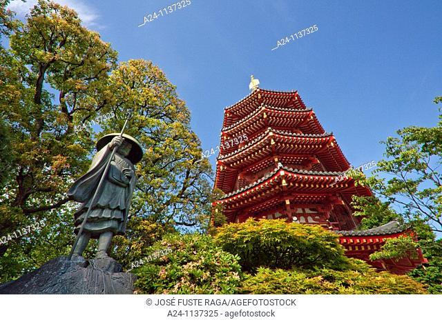Kawasaki City-Daishi Shrine-Kouboudaishi Statue